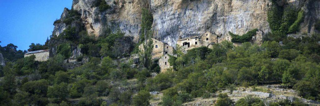 Le village semi-troglodytiques d'Eglazines